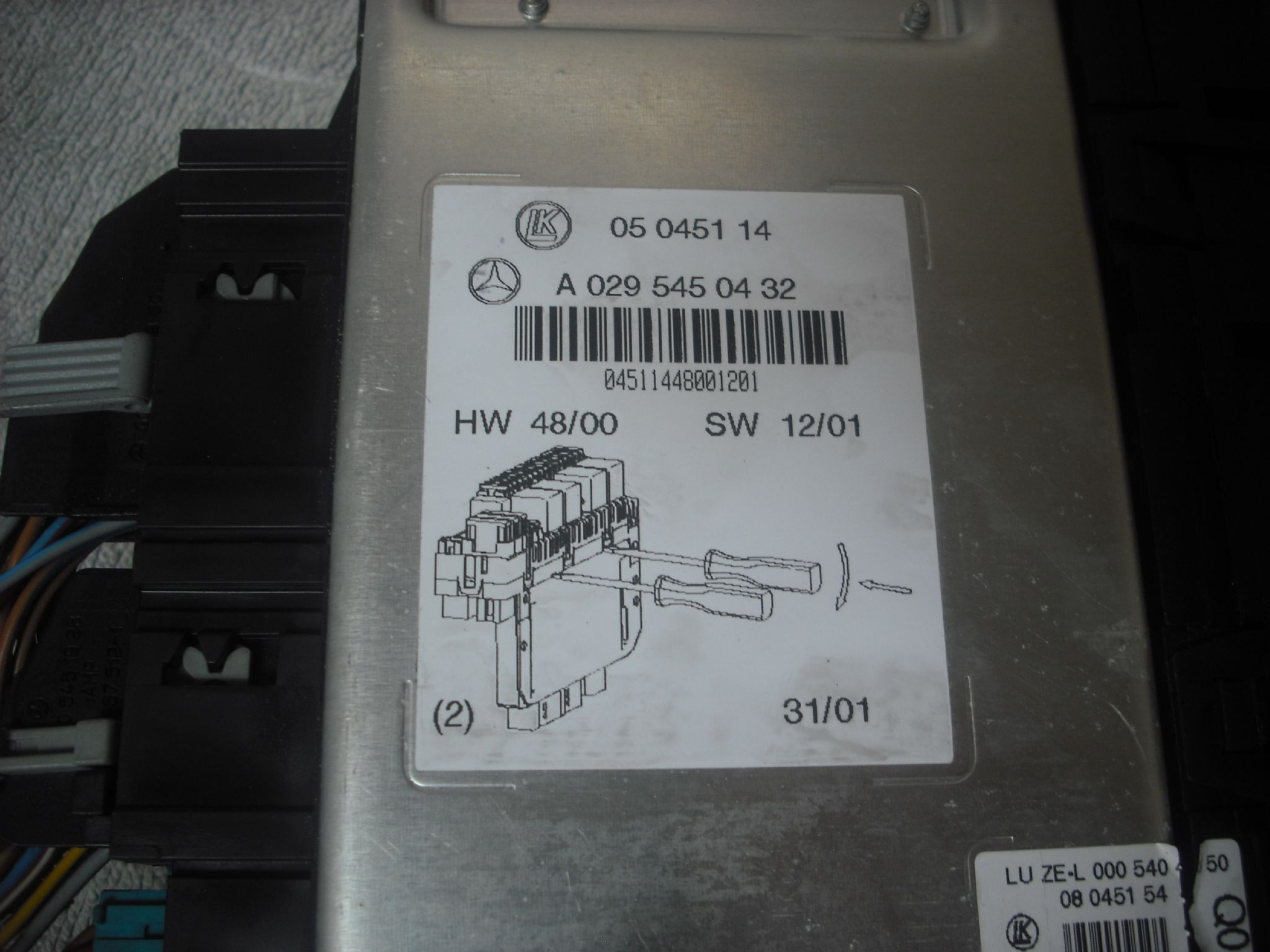 Mercedes Benz Ml Fuse Box Product Wiring Diagrams Diagram W220
